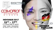 Cosmoprof Asia Hong Kong 15.11. - 17.11.2017
