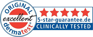 5 Stars clinically tested
